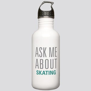 Ask Me About Skating Stainless Water Bottle 1.0L
