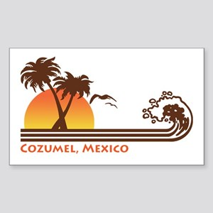 Cozumel Mexico Sticker (Rectangle)