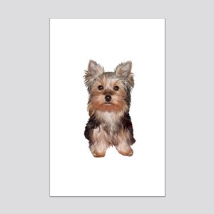 Yorkshire Terrier Puppy Mini Poster Print