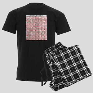 wordfind Pajamas