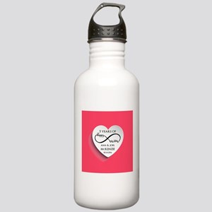 Personalized Anniversa Stainless Water Bottle 1.0L