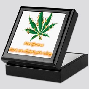 Marijuana Humor Keepsake Box