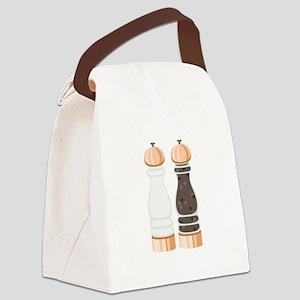 Salt & Pepper Grinders Canvas Lunch Bag