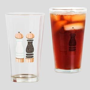 Salt & Pepper Grinders Drinking Glass