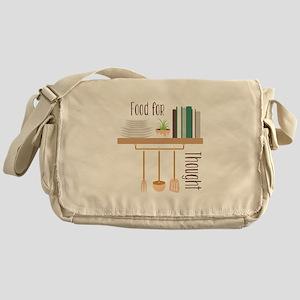 Food For Thought Messenger Bag