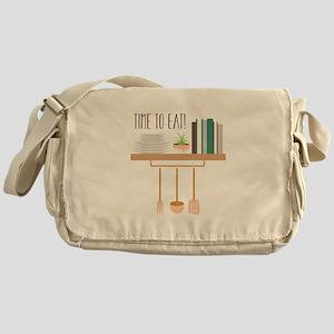 Time To Eat Messenger Bag