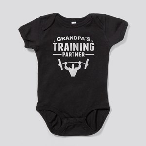 Grandpas Training Partner Baby Bodysuit