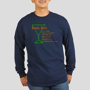 Bloody Mary Long Sleeve Dark T-Shirt