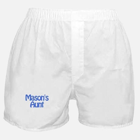 Mason's Aunt Boxer Shorts
