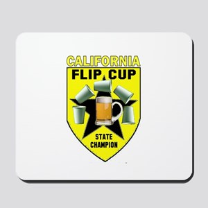 California Flip Cup Mousepad