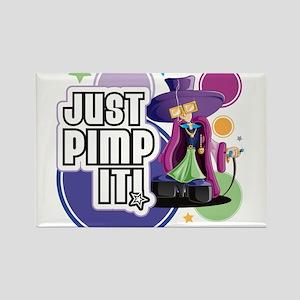Just Pimp It!! Rectangle Magnet