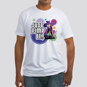 Just Pimp It!! Fitted T-Shirt