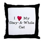 I Love My...Throw Pillow