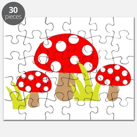 Magic Mushrooms Puzzle
