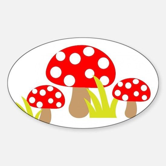 Magic Mushrooms Decal