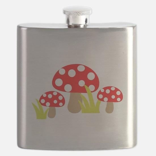 Magic Mushrooms Flask