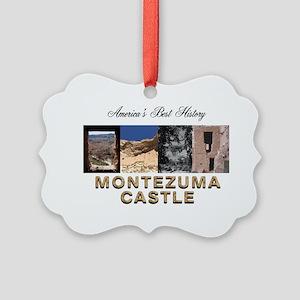 ABH Montezuma Castle Picture Ornament