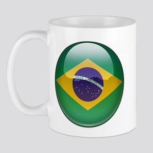 Brazil Flag Jewel Mug