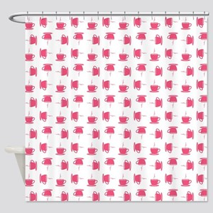 CUP PATTERN Shower Curtain