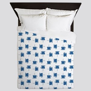 CUP PATTERN Queen Duvet