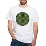 Geranium Leaves White T-Shirt