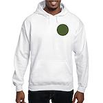 Geranium Leaves Hooded Sweatshirt