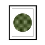 Geranium Leaves Framed Panel Print