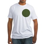 Geranium Leaves Fitted T-Shirt