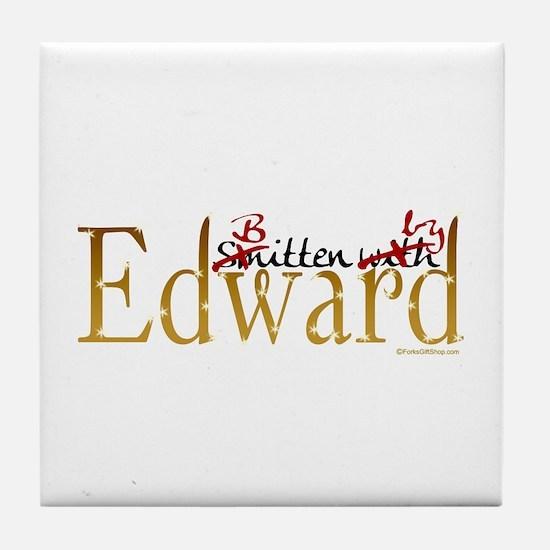 Bitten by Edward Tile Coaster