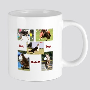 Red Dogs Rule - Frisbee! Mugs