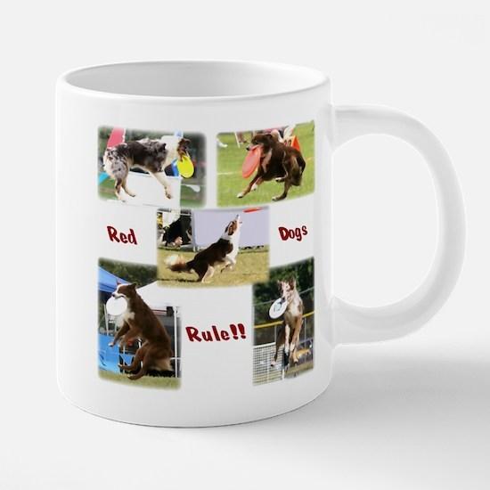 Red Dogs Rule - Frisbee! Mugs