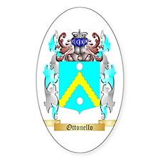 Ottonello Sticker (Oval)