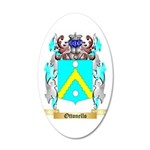 Ottonello 35x21 Oval Wall Decal