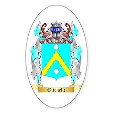 Ottonelli Sticker (Oval)