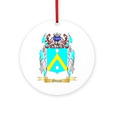 Ottone Round Ornament
