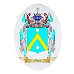 Otto Oval Ornament