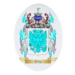 Otto 2 Oval Ornament