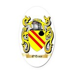O'Tracy Oval Car Magnet