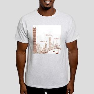 Milwaukee Skyline Cream T-Shirt