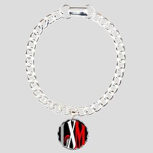 LXM MINI Cooper Charm Bracelet, One Charm