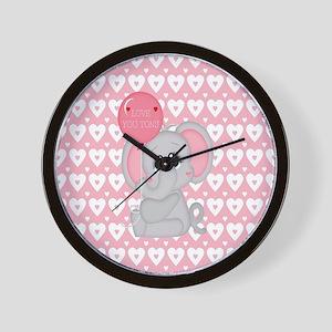 Love U Tons Wall Clock