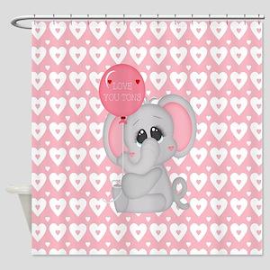 Love U Tons Shower Curtain