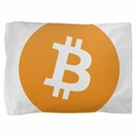 bitcoinLogo10000 Pillow Sham