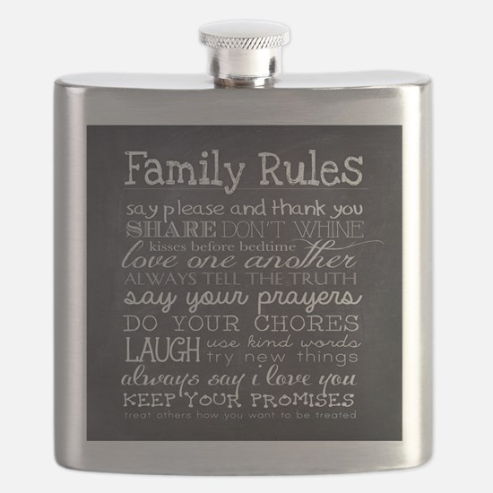 Cute Family Flask