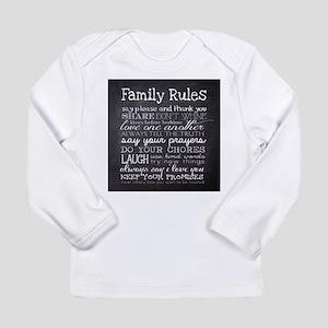 Family Rules Long Sleeve T-Shirt