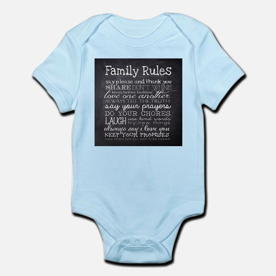 Family Rules Body Suit