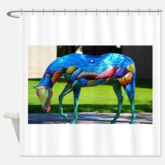 Painted Horse 2 Shower Curtain