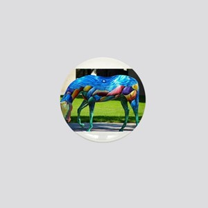 Painted Horse 2 Mini Button