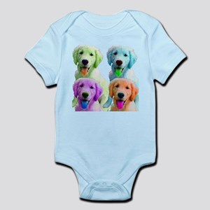 Golden Retriever Warhol Infant Bodysuit