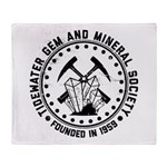 Founders logo weathered Throw Blanket
